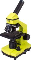 Микроскоп оптический Levenhuk Rainbow 2L Plus / 69044 (Lime) -