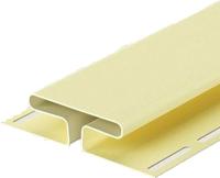 Фасадный профиль Docke Для сайдинга H Dacha (3м, желтый) -