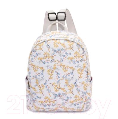 Рюкзак OrsOro DS-9030 (мелкие цветы на белом)