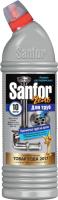Средство для устранения засоров Sanfor Для кухни (750г) -