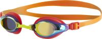 Очки для плавания Speedo Mariner Supreme Mirror Junior / B989 (оранжевый/золото) -