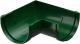Угол желоба Docke Dacha 120мм 90 градусов (зеленый) -