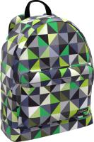 Школьный рюкзак Erich Krause EasyLine 17 L Green Rhombs / 46192 -