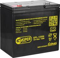 Батарея для ИБП Kiper GPL-12550 (12В/55 А·ч) -