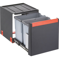 Система сортировки мусора Franke Cube 40 (2x14л) -