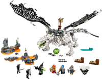 Конструктор Lego Ninjago Дракон чародея-скелета 71721 -