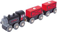 Локомотив игрушечный Hape Товарный поезд / E3717-HP -