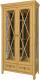 Шкаф с витриной WellMaker Норманн ШВ1-100 ПП (натура) -