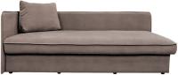 Тахта Lama мебель Лиза-2 правый (Amigo Cocoa) -