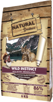 Корм для кошек Natural Greatness Wild Instinct курица, индейка, лосось (6кг) -