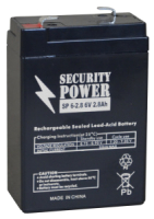 Батарея для ИБП Security Power SP 6-2.8 (6V/2.8Ah) -