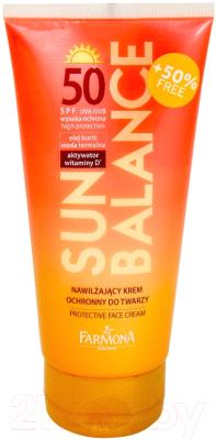 Крем солнцезащитный Farmona Sun Balance защитный SPF50 (50мл)