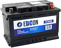 Автомобильный аккумулятор Edcon DC70640R (70 А/ч) -