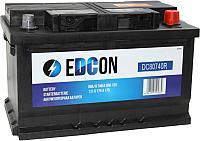Автомобильный аккумулятор Edcon DC80740R (80 А/ч) -