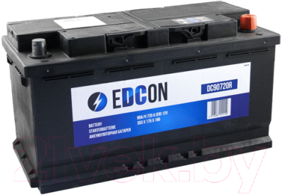 Автомобильный аккумулятор Edcon DC90720R