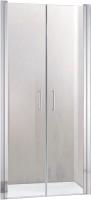 Душевая дверь Adema НАП ДУО-80 / NAP DUO-80 (прозрачное стекло) -