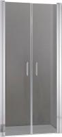 Душевая дверь Adema НАП ДУО-90 / NAP DUO-90 (тонированное стекло) -