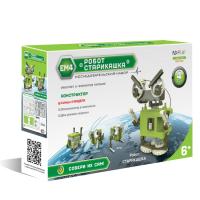 Конструктор электромеханический ND Play Робот-старикашка 4 в 1 / NDP-020 -