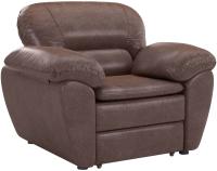 Кресло мягкое Sofos Бергамо тип A (Richie Brown) -
