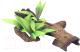 Декорация для аквариума Rosewood Коряга с растением / 911009/RW -