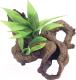Декорация для аквариума Rosewood Коряга с растением / 911008/RW -