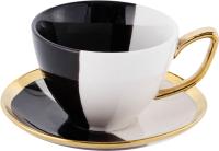 Чашка с блюдцем Home and You 55931-MIX-FIL -