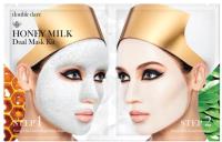 Набор косметики для лица Double Dare Honey Milk Exfoliating Bubble 22г+Honey Milk Ceramide Mask 25г -