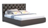 Полуторная кровать Sofos Бетти с ПМ 140x200 (Marvel Pearl Stone) -