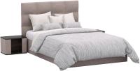 Полуторная кровать Sofos Вена тип A с ПМ 140x200 (Verso Pebble) -