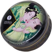 Эротическое массажное масло Shunga Zenitude зеленый чай / 274611 (30мл) -