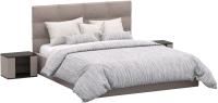 Двуспальная кровать Sofos Вена тип A с ПМ 180x200 (Verso Pebble) -
