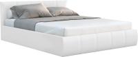 Полуторная кровать Sofos Верона тип A с ПМ 140x200 (Teos White) -