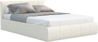 Двуспальная кровать Sofos Верона тип A с ПМ 160x200 (Teos Milk) -
