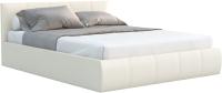 Двуспальная кровать Sofos Верона тип A с ПМ 180x200 (Teos Milk) -