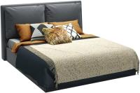 Двуспальная кровать Sofos Эмилия тип A с ПМ 160x200 (Atlanta Grafit) -