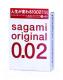 Презервативы Sagami Original 0.02 №3 / 709 -