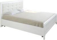 Полуторная кровать Лером Карина КР-2031-СЯ 120x200 (снежный ясень) -