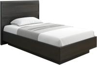 Полуторная кровать Лером Дольче Нотте КР-1801-ВЕ 120x200 (дуб венге) -