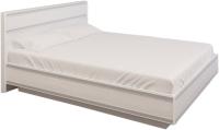 Полуторная кровать Лером Карина КР-1001-СЯ 120x200 (снежный ясень) -