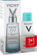 Набор косметики для лица Vichy Mineral 89 гель-сывор. д/всех типов кожи+вода мицел. д/чувств. (75мл+100мл) -