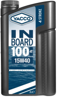 Моторное масло Yacco Inboard 100 4T 15W40 (2л) -