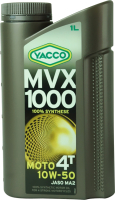 Моторное масло Yacco MVX 1000 4T 10W40 (1л) -