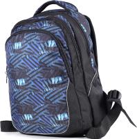 Школьный рюкзак Galanteya 7217 / 9с1802к45 (черный/синий) -