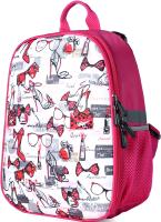 Школьный рюкзак Galanteya 64419 / 0с753к45 (малиновый) -