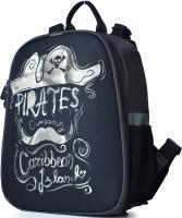 Школьный рюкзак Galanteya 65119 / 0с756к45 (темно-серый) -