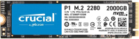 SSD диск Crucial P1 2TB (CT2000P1SSD8) -