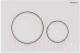 Кнопка для инсталляции Geberit Sigma 20 115.882.01.1 -