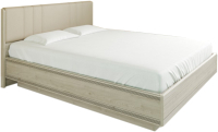 Двуспальная кровать Лером Карина КР-1014-ГС 180x200 (гикори джексон светлый) -