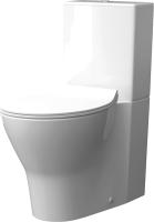 Унитаз напольный Керамин Сканди Алкапласт Дуал (с жестким сиденьем Slim и микролифтом) -