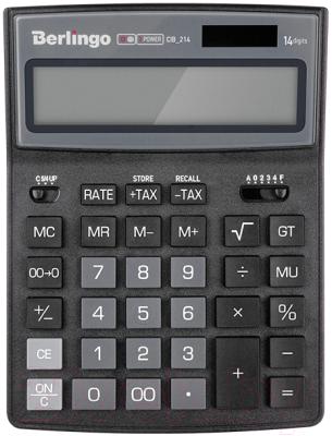 Калькулятор Berlingo City Style CIB 214 (черный/серый)
